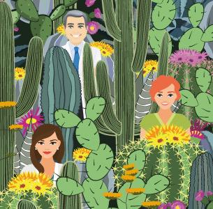 Fleur de cactus - théâtre des deux rives -versailles